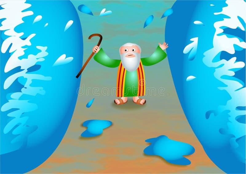 Моисей бесплатная иллюстрация
