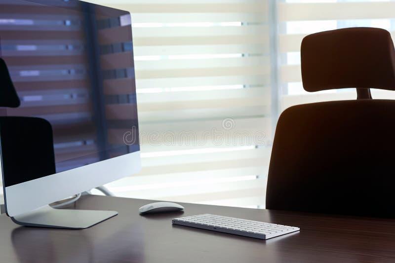 мой офис стоковое изображение rf