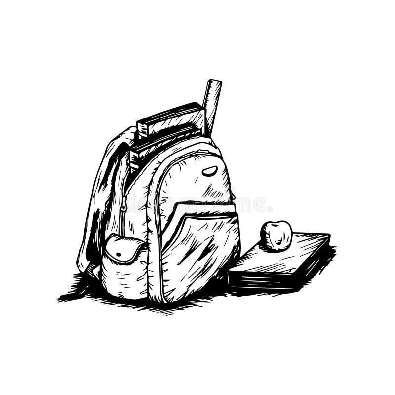 Мой рюкзак стоковое изображение rf