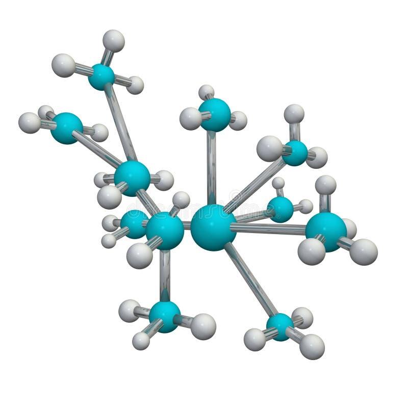 молекула 3d бесплатная иллюстрация