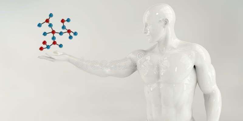 Молекулярное инженерство бесплатная иллюстрация