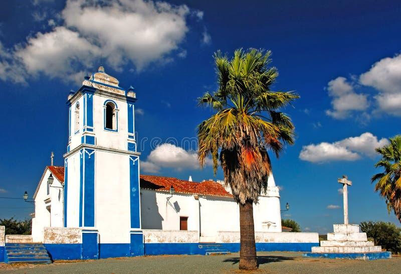 молельня evora alentejo около Португалии стоковое изображение