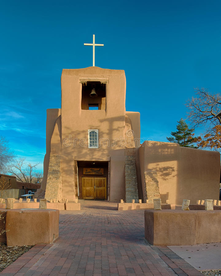Молельня San Miguel стоковое фото rf