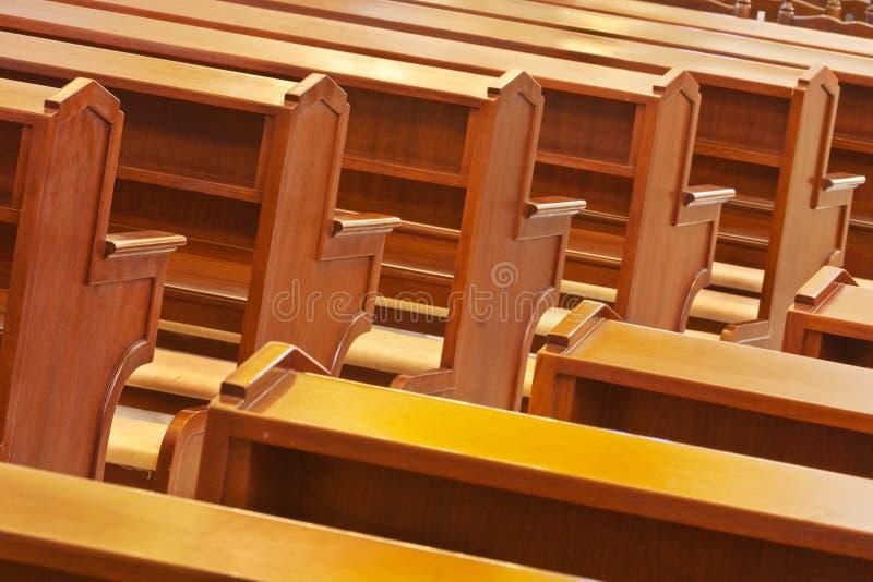 молитва церков стула стоковые изображения rf