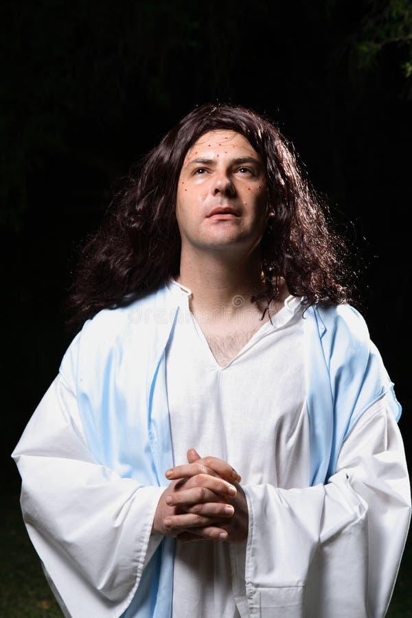 молитва gethsemane стоковое фото