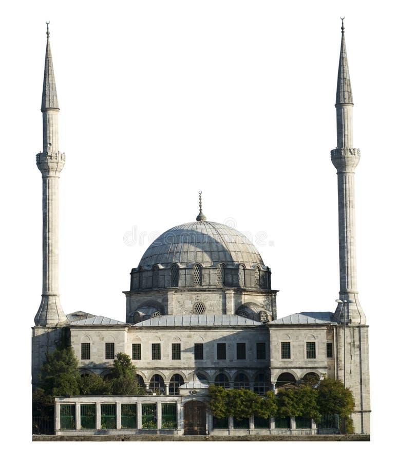 Молитвенное место мечети, изолированное вероисповедание мусульманства, стоковое фото rf