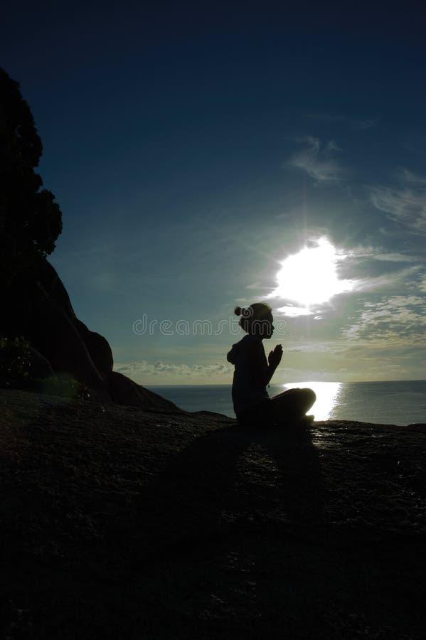 молитвы стоковое фото
