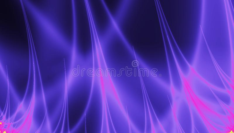 Молния фрактали огня, предпосылка силы плазмы бесплатная иллюстрация