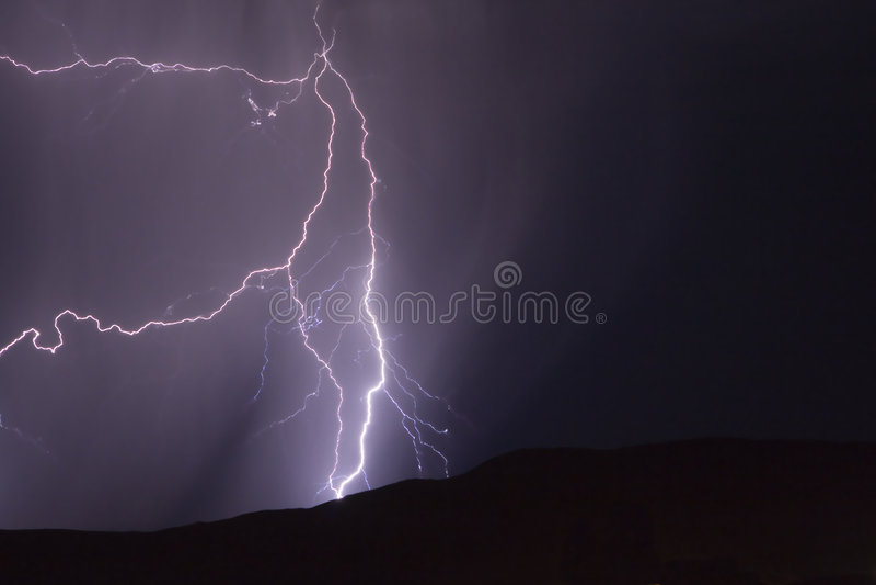 молния Юта стоковое фото