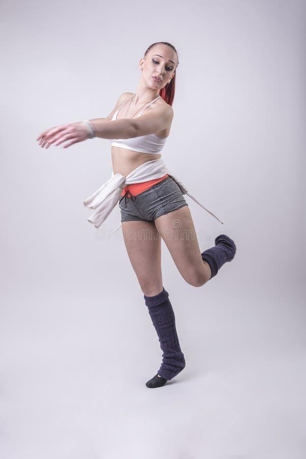 Молодая современная балерина стоковая фотография rf