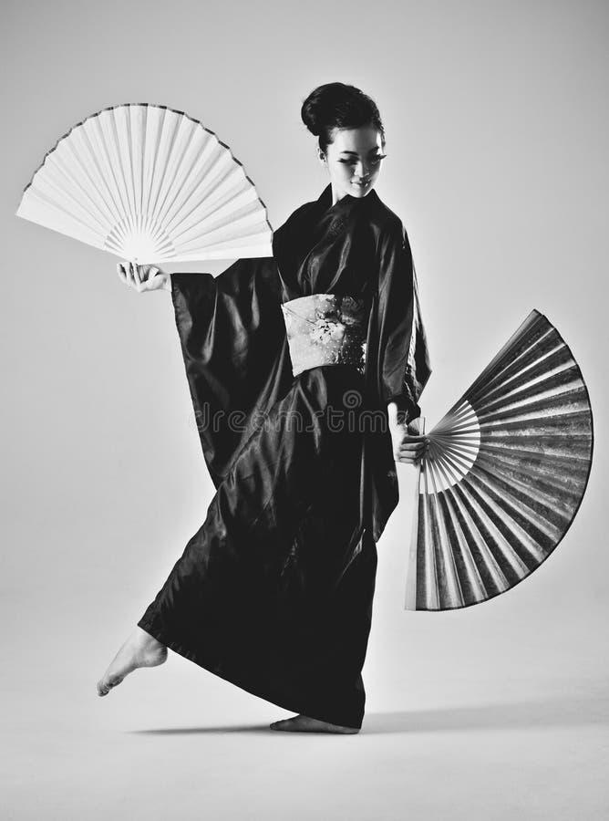 Молодая японская женщина стоковое фото rf
