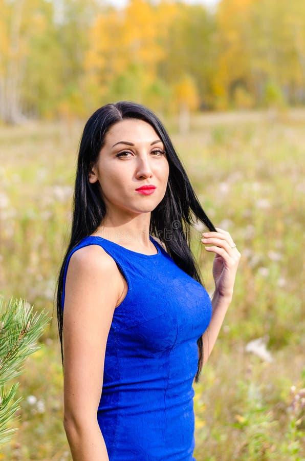Молодое брюнет от России стоковая фотография rf