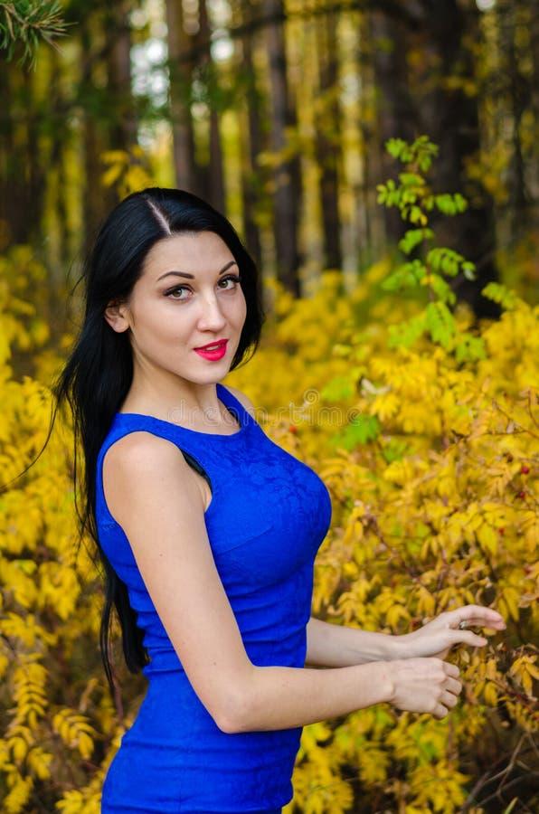 Молодое брюнет от России стоковое фото