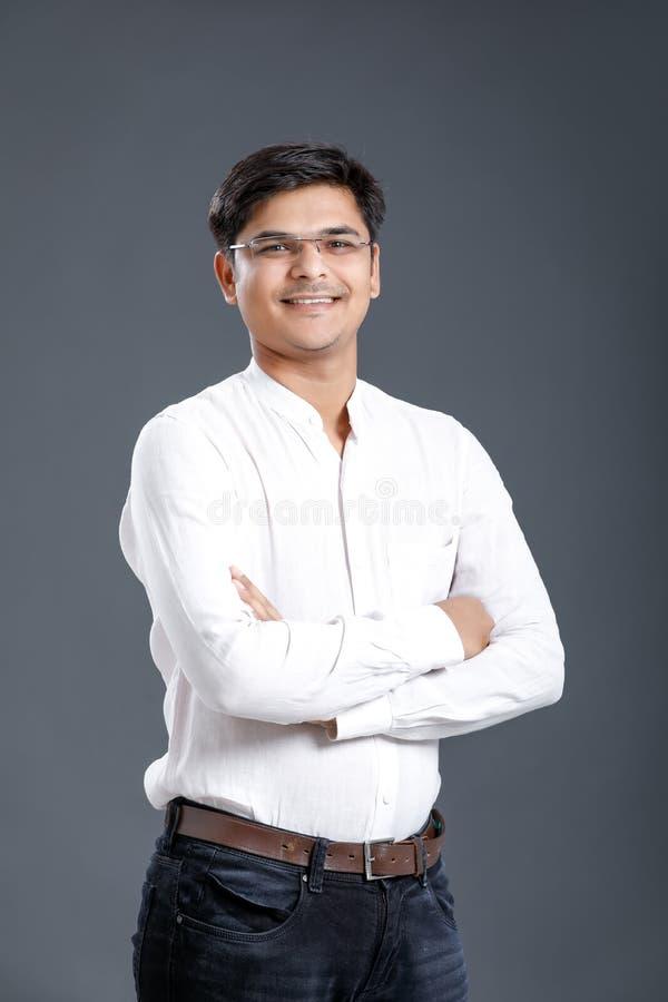 Молодой индийский человек стоковая фотография rf