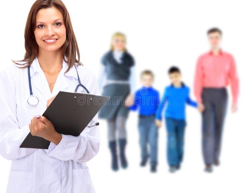 Молодой привлекательный семейный врач стоковые изображения