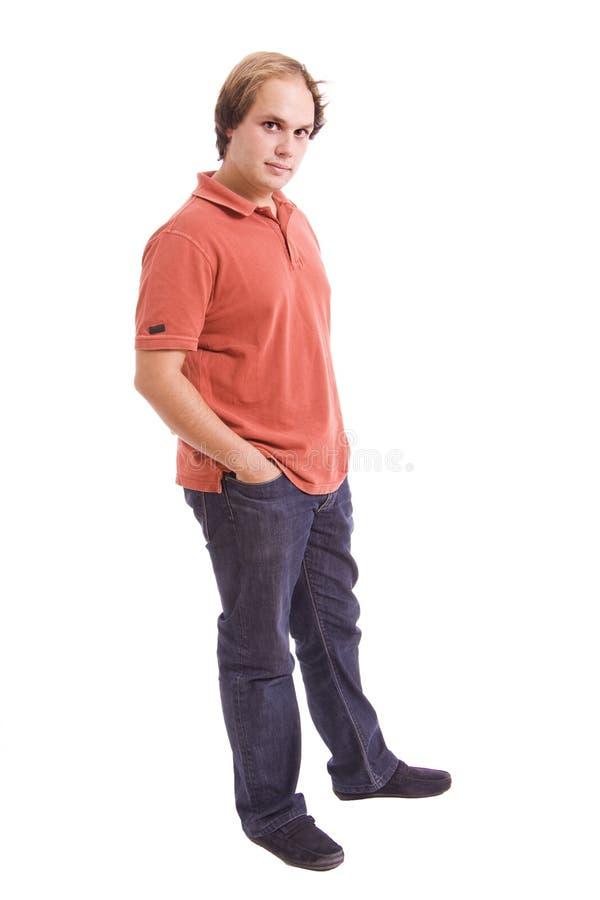 Молодой человек стоковое изображение rf