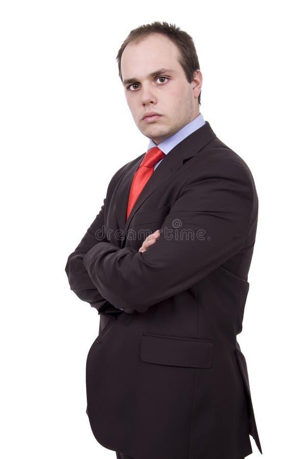 Молодой человек businss стоковая фотография rf
