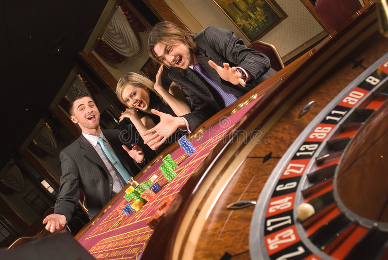 молодость казино стоковые изображения rf