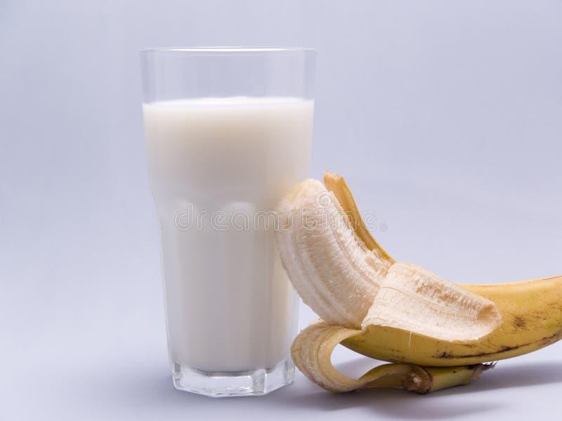молоко банана стоковые изображения rf