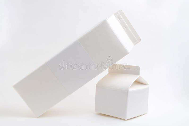 молоко коробки стоковое фото