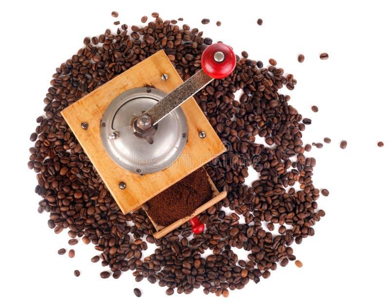 молотилка кофе стоковая фотография