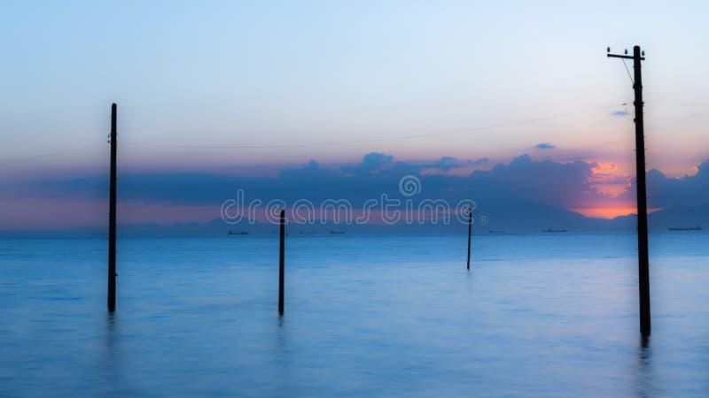 Молчаливая гавань стоковое изображение rf