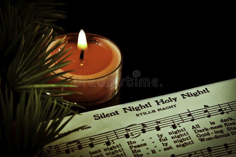 Молчком ноча стоковая фотография rf