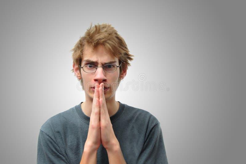 моля подросток стоковое изображение rf