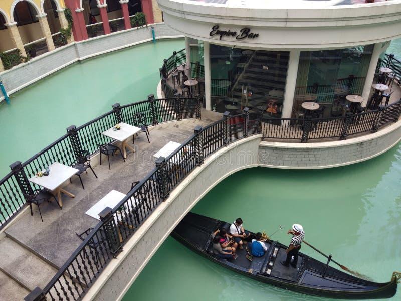 Мол грандиозного канала Венеции стоковые фото