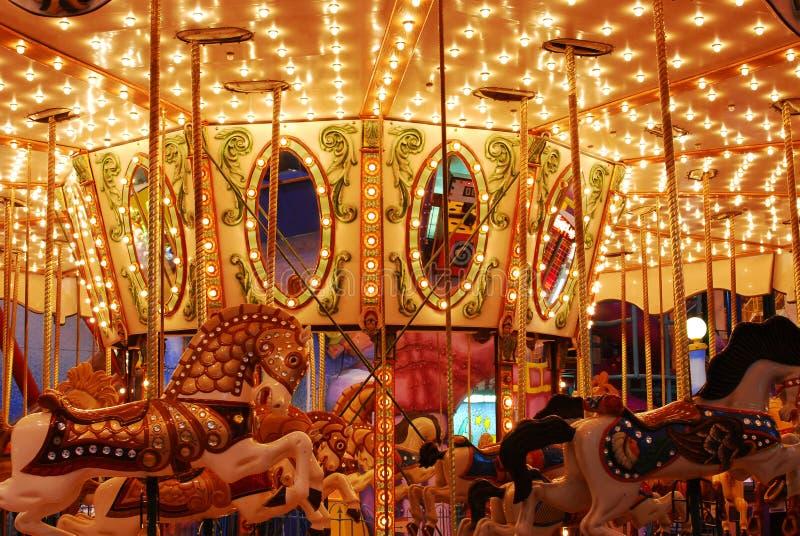 мол edmonton carousel западный стоковые фотографии rf