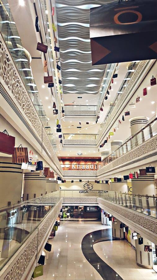Мол Giga в Исламабаде Пакистане стоковые изображения rf
