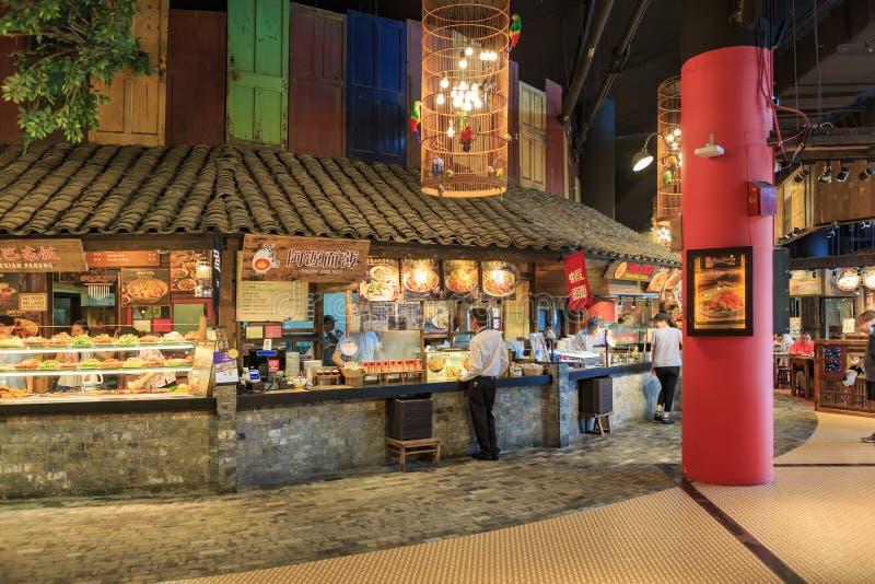 Мол VivoCity Сингапура стоковые фото