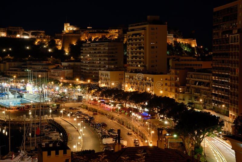 Монако над взглядом стоковая фотография rf