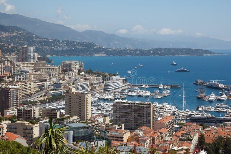Монако, Le Rocher стоковая фотография