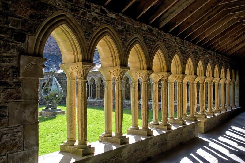 Монастыри аббатства Iona стоковое изображение rf