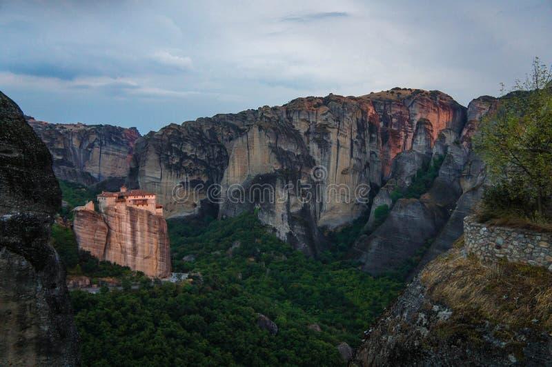 Монастыри 3 Meteora стоковое изображение