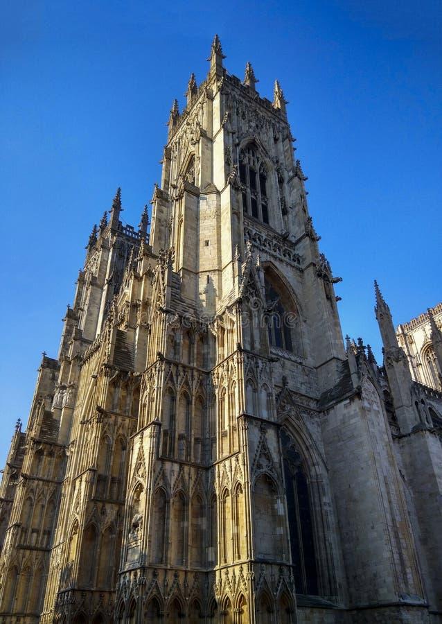 Монастырская церковь Йорка в Великобритании стоковая фотография