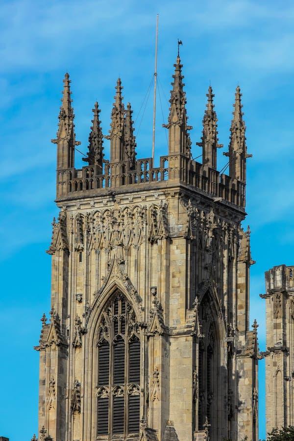 Монастырская церковь Йорка стоковые фотографии rf