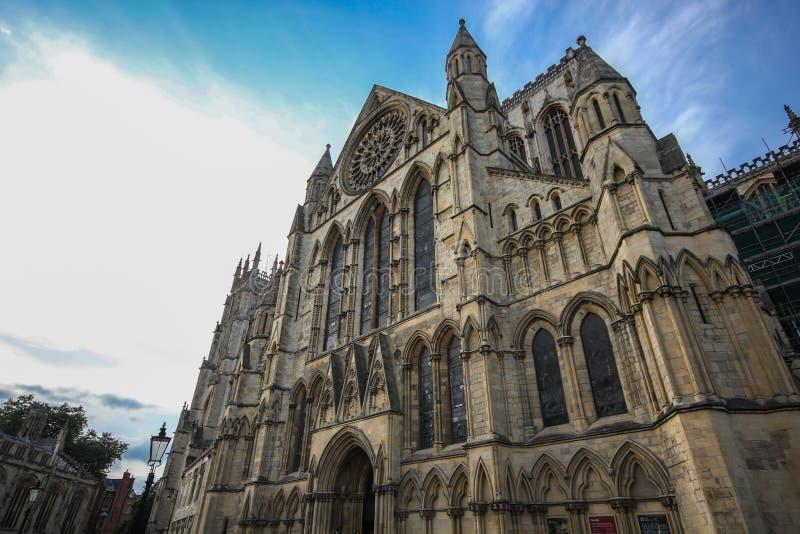 Монастырская церковь Йорка стоковое фото
