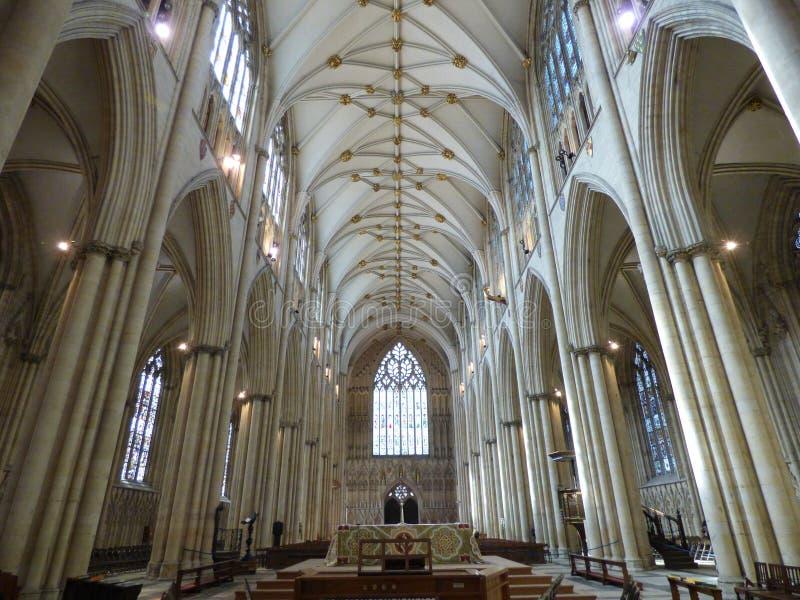 Монастырская церковь Йорка стоковые изображения