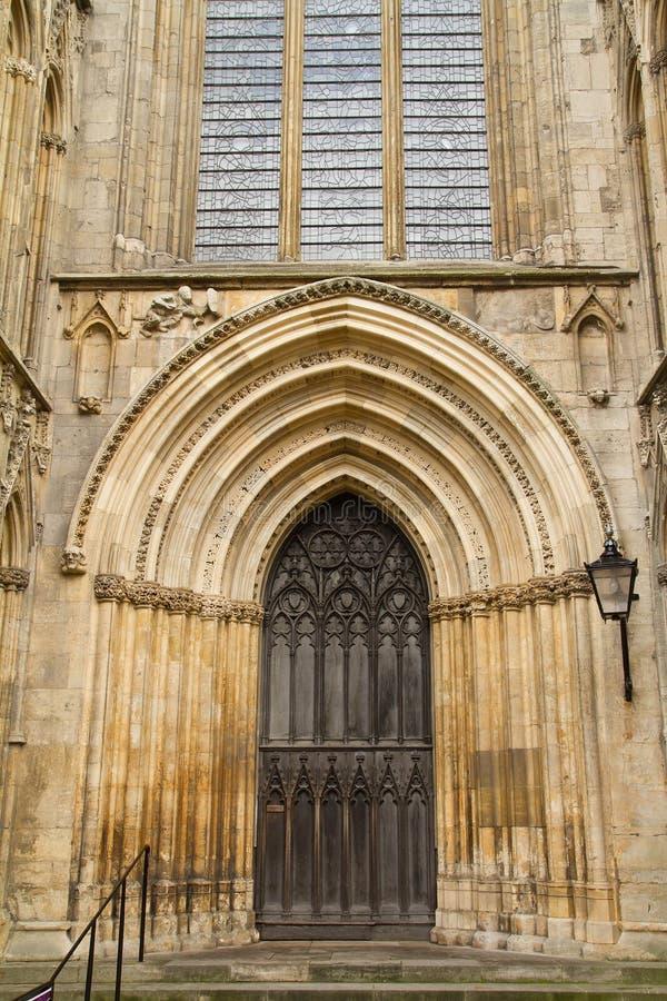 Монастырская церковь Йорк стоковая фотография