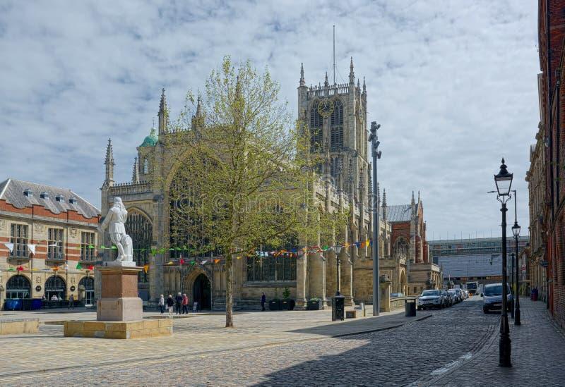 Монастырская церковь корпуса Кингстон на корпусе r стоковое фото