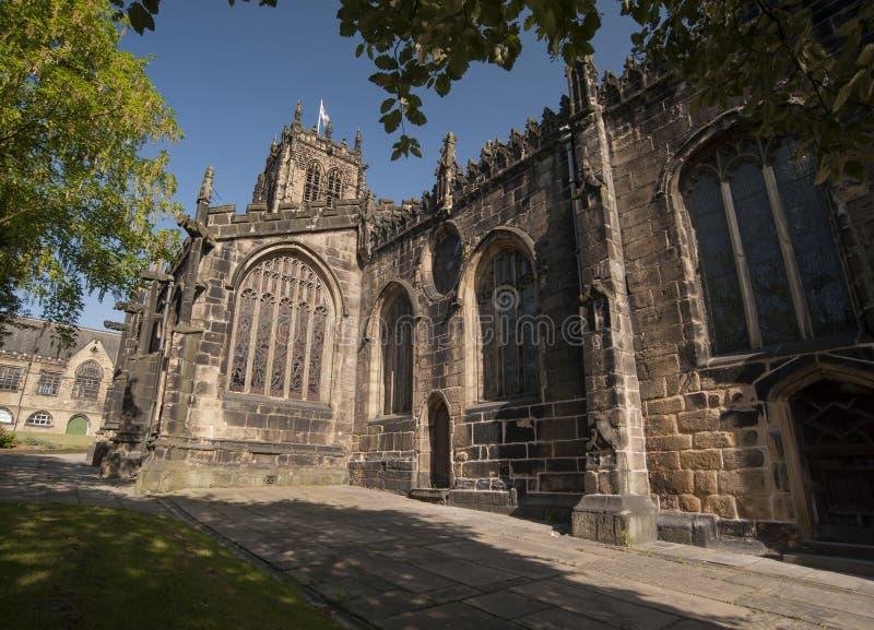 Монастырская церковь Halifax стоковое фото rf
