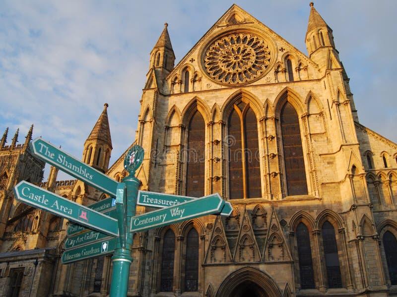 монастырская церковь York Стоковое Изображение RF
