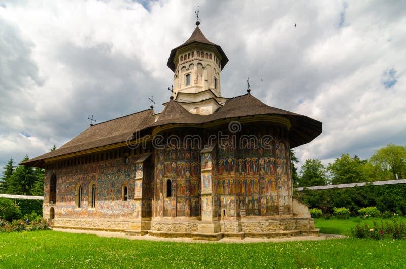 Монастырь› a MoldoviÈ, Румынии стоковые изображения