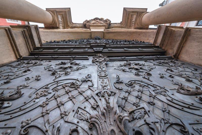 Монастырь в Broumov стоковое изображение rf