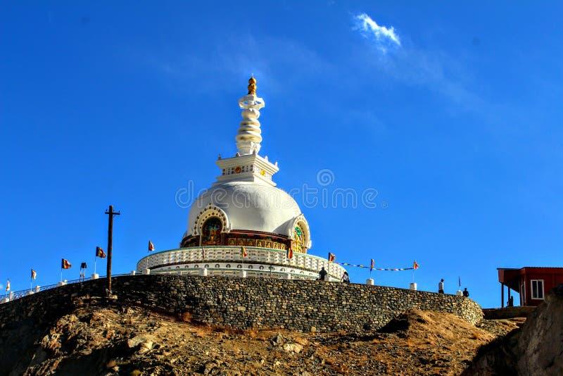 Монастырь в Leh стоковое фото