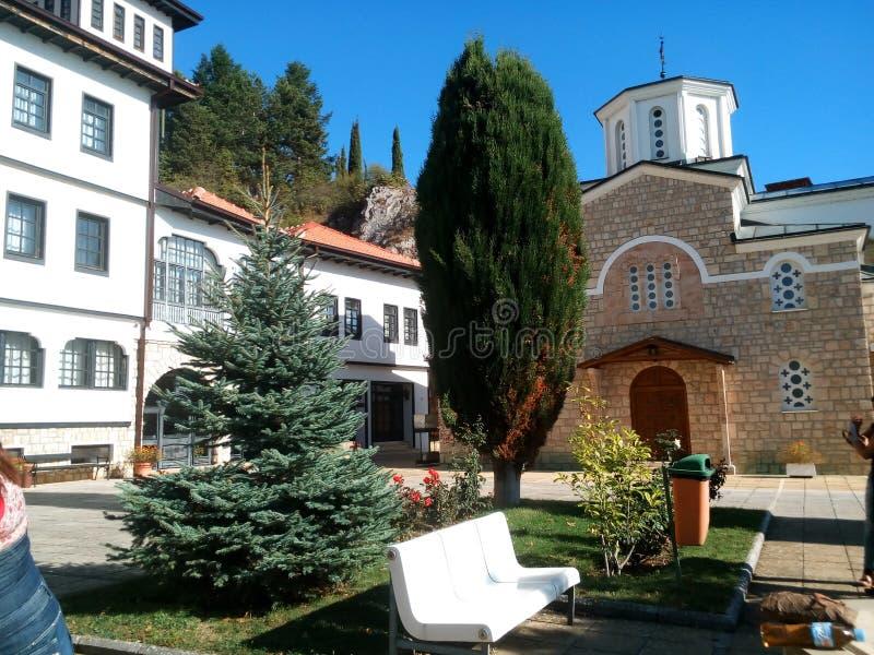 Монастырь в Struga стоковая фотография