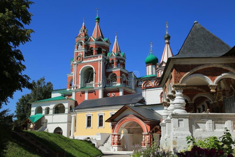 Монастырь в Zvenigorod стоковое изображение rf
