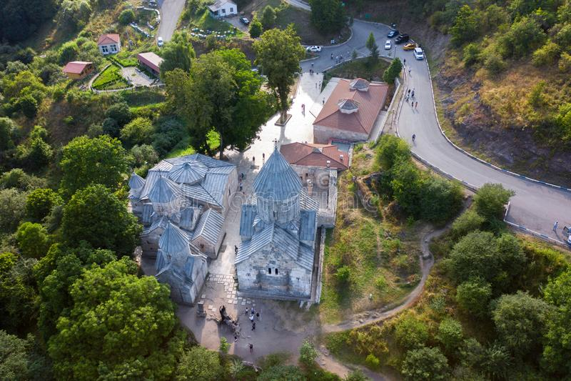 Монастырь Дилижана Хагарцина в Армении стоковое фото rf